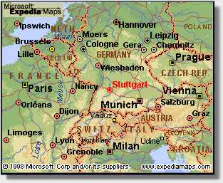 Bandkeramik village in Vahingen Germany Map
