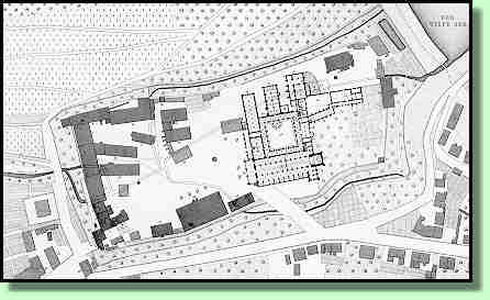 Old Map of the monastery